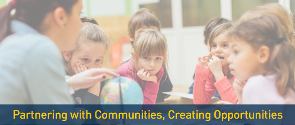 Partnering with Communities, Creating Opportunities